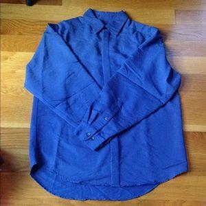 Other - Mens Long Sleeve Dress Shirt